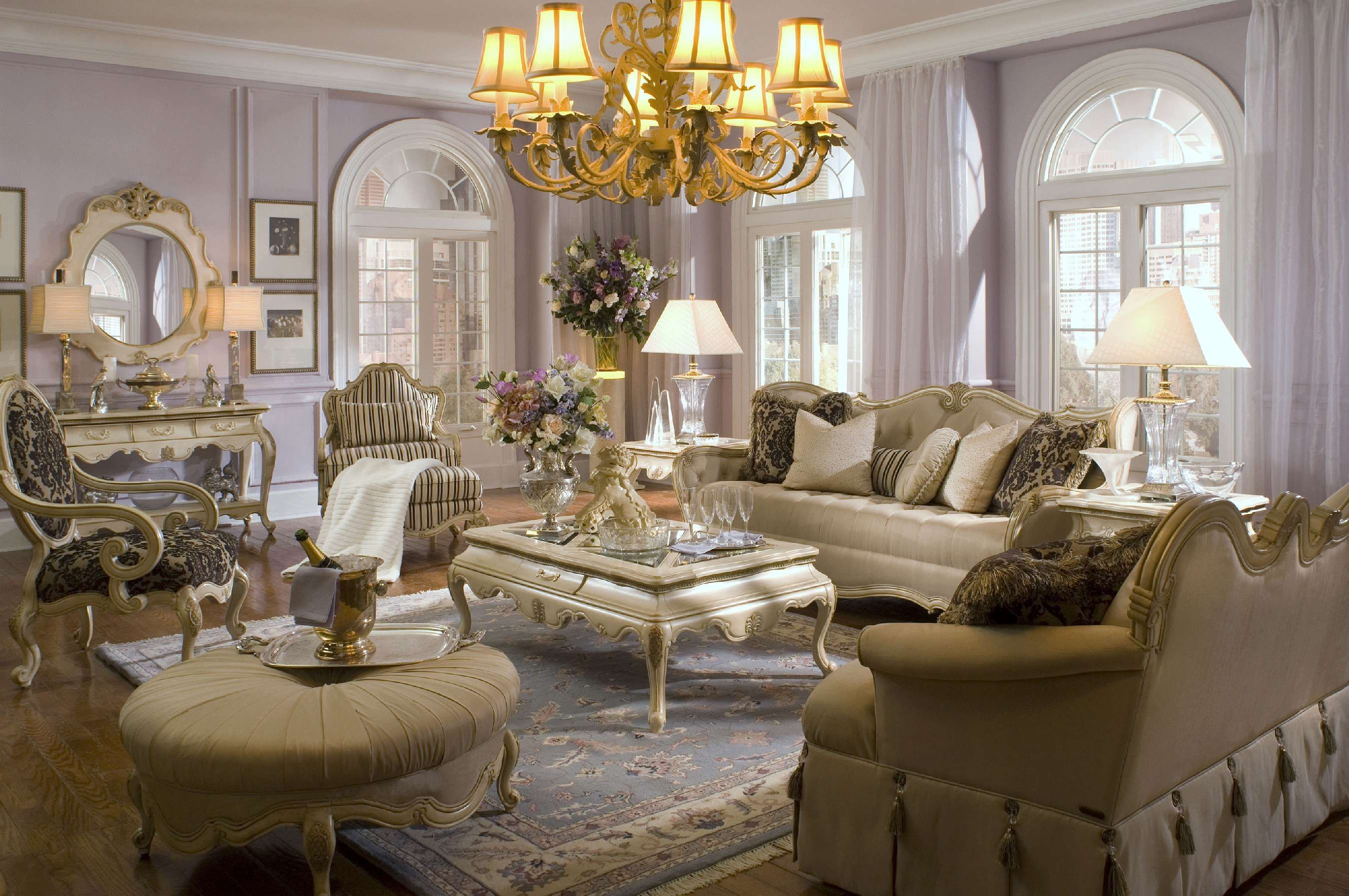 golden Luxury Rooms with lighting Golden Details Luxury Rooms with lighting Golden Details