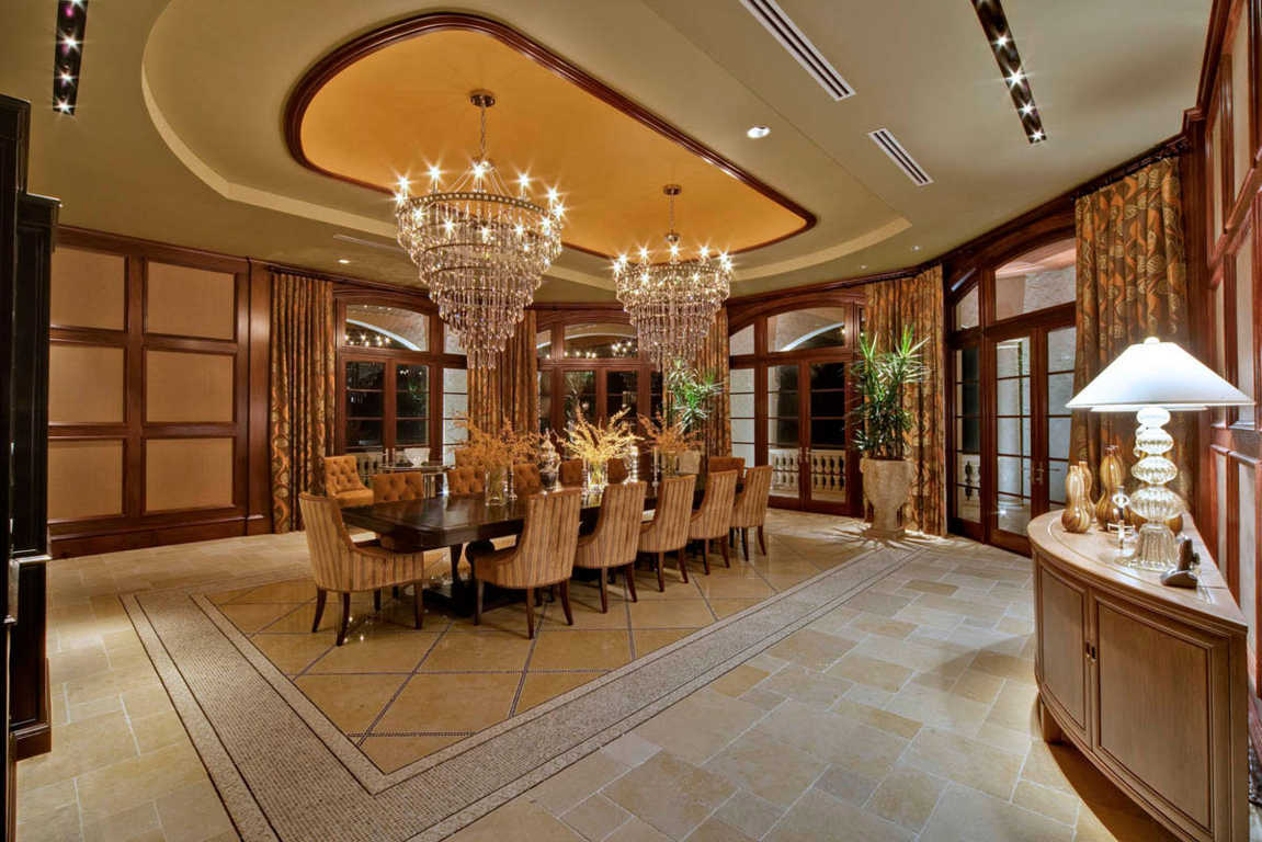 Lighting ideas for your luxury dining room lighting stores for Luxury dining room design