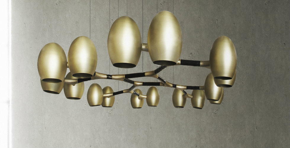 How to glam up your home with BRABBU's lighting designs
