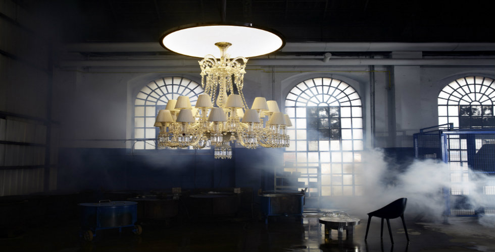 The most luxurious chandeliers by Baccarat