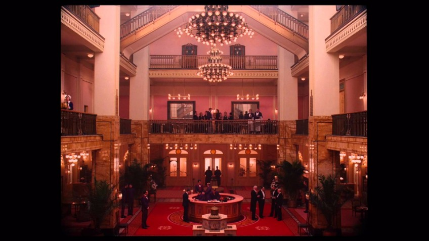 production design production design Delicate décor — about the production design in Grand Budapest Hotel GBH chandelier