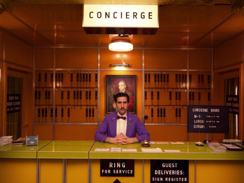 production design production design Delicate décor — about the production design in Grand Budapest Hotel GBH concierge geometry