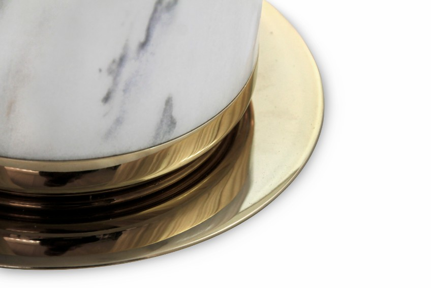 lighting designs lighting designs Icy elegance — marble lighting designs by DelightFULL Marble Hanna base