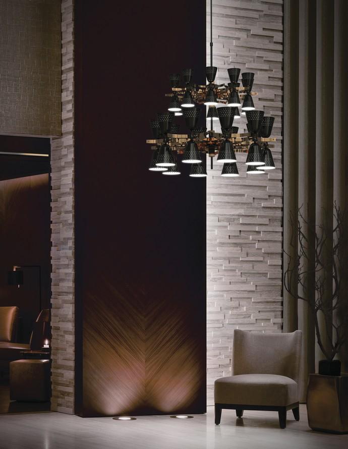 2017 trends for modern hallway design apartments for Interior design lighting trends