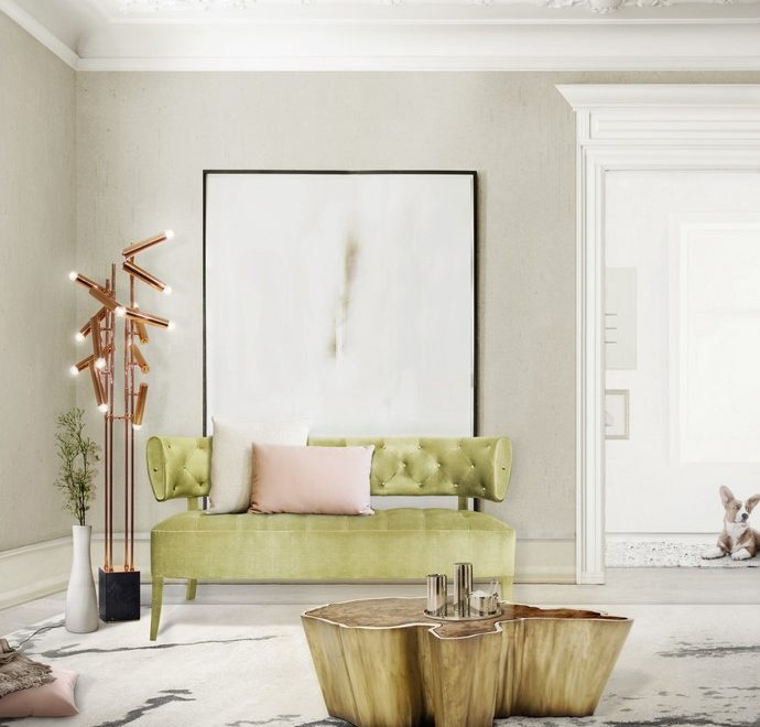 Spring Trends 2017 Exciting Color Scheme Design Ideas by BRABBU | SPRING TRENDS 2017 The Most Trend Colours to Inspire your Living Room 53 690x660