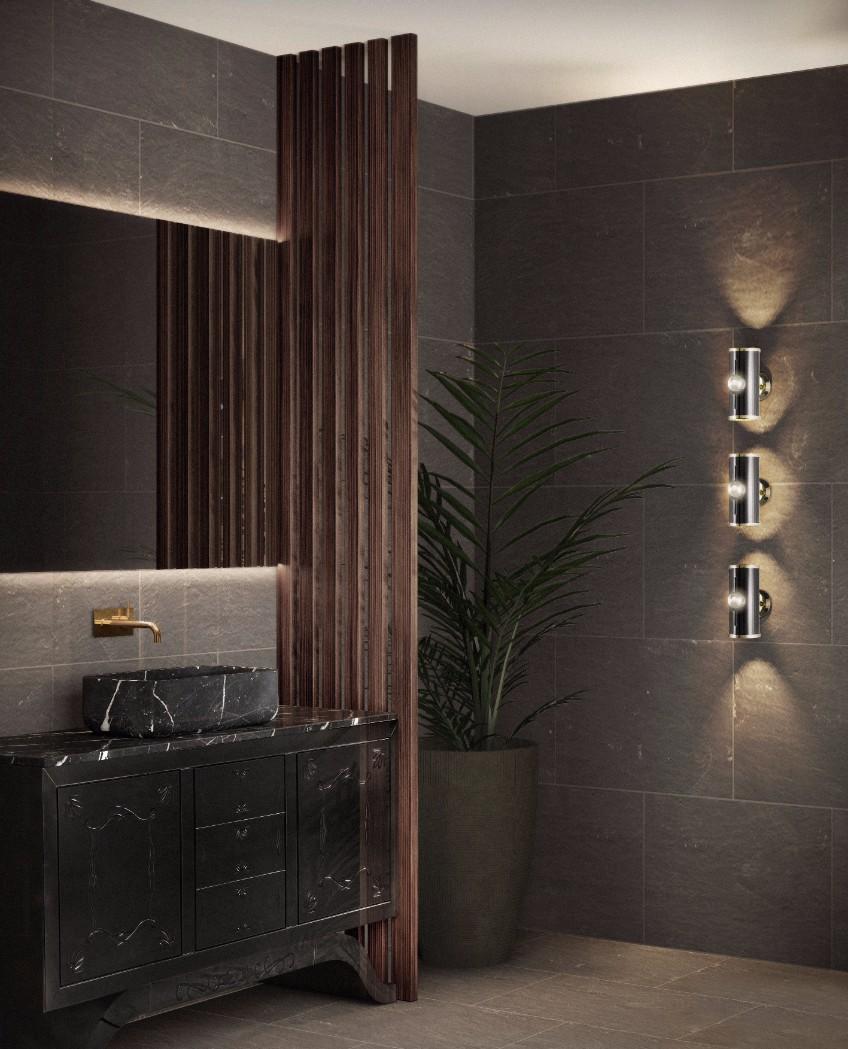 bathroom lighting bathroom lighting What's Hot On Pinterest: The Perfect Bathroom Lighting bathroom interior delightfull unique lamps 01 HR
