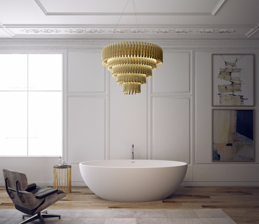 bathroom lighting bathroom lighting What's Hot On Pinterest: The Perfect Bathroom Lighting bathroom interior residential delightfull unique lamps 02 HR