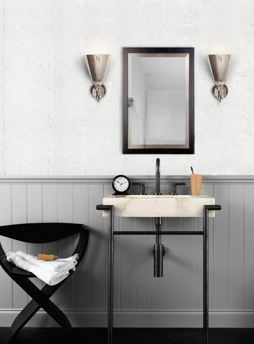 bathroom lighting bathroom lighting What's Hot On Pinterest: The Perfect Bathroom Lighting charles wall ambience 03 HR