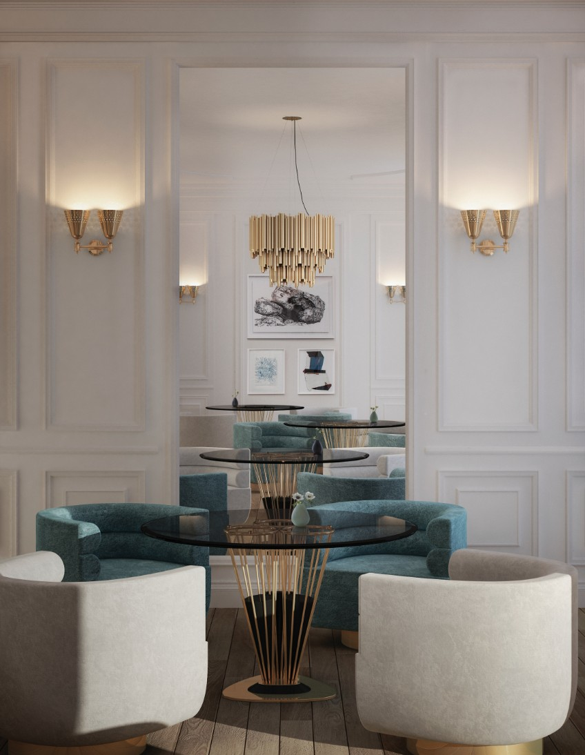 restaurant decor restaurant decor Enlightened meals: lighting fixtures in restaurant decor delightfull charles wall lamp ambience