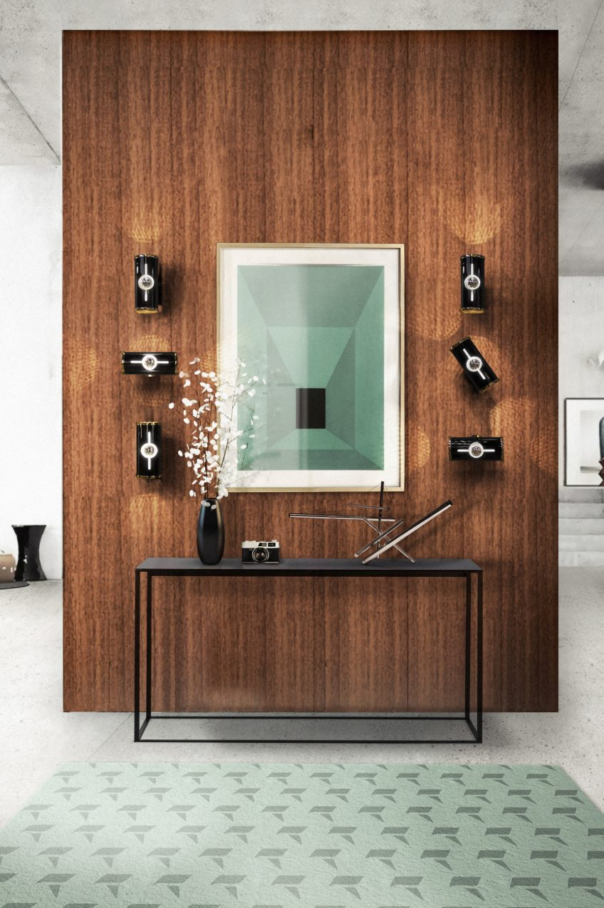 hall lighting hall lighting Hall lighting or welcoming guests to the luxury of your home delightfull chuck midcentury modern wall light adjustable fixture e1490975974411
