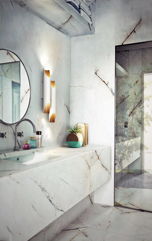 bathroom lighting bathroom lighting What's Hot On Pinterest: The Perfect Bathroom Lighting galliano 2 wall ambience 01 HR