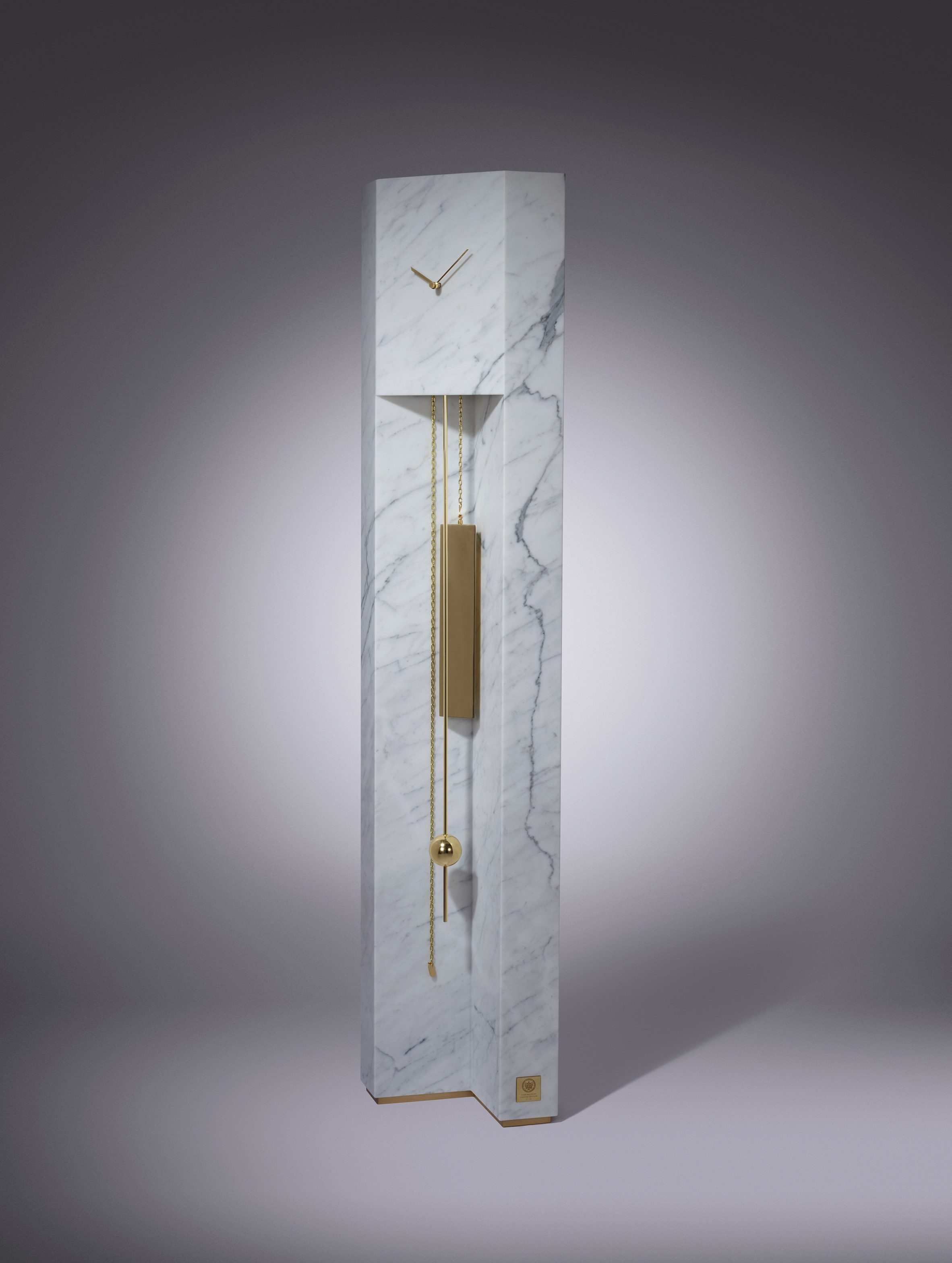 Lee Broom Time Machine Lee Broom Lee Broom and the Time Machine time machine grandfather clock lee broom milan 2017 design festival furniture dezeen 2364 col 2