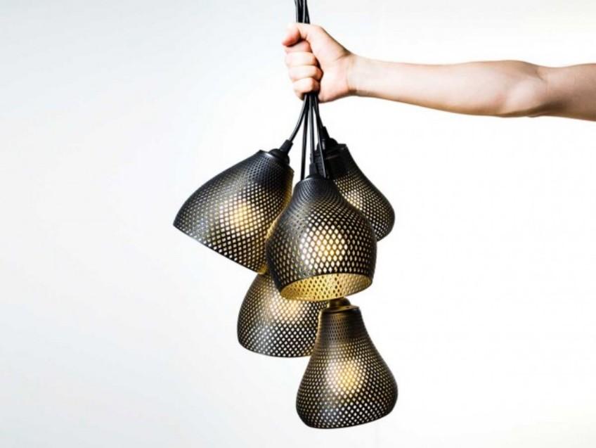 pendant lights 3D Printed Pendant Lights Created by Studio MeraldiRubini 3D Printed Pendant Lights Created by Studio MeraldiRubini 5
