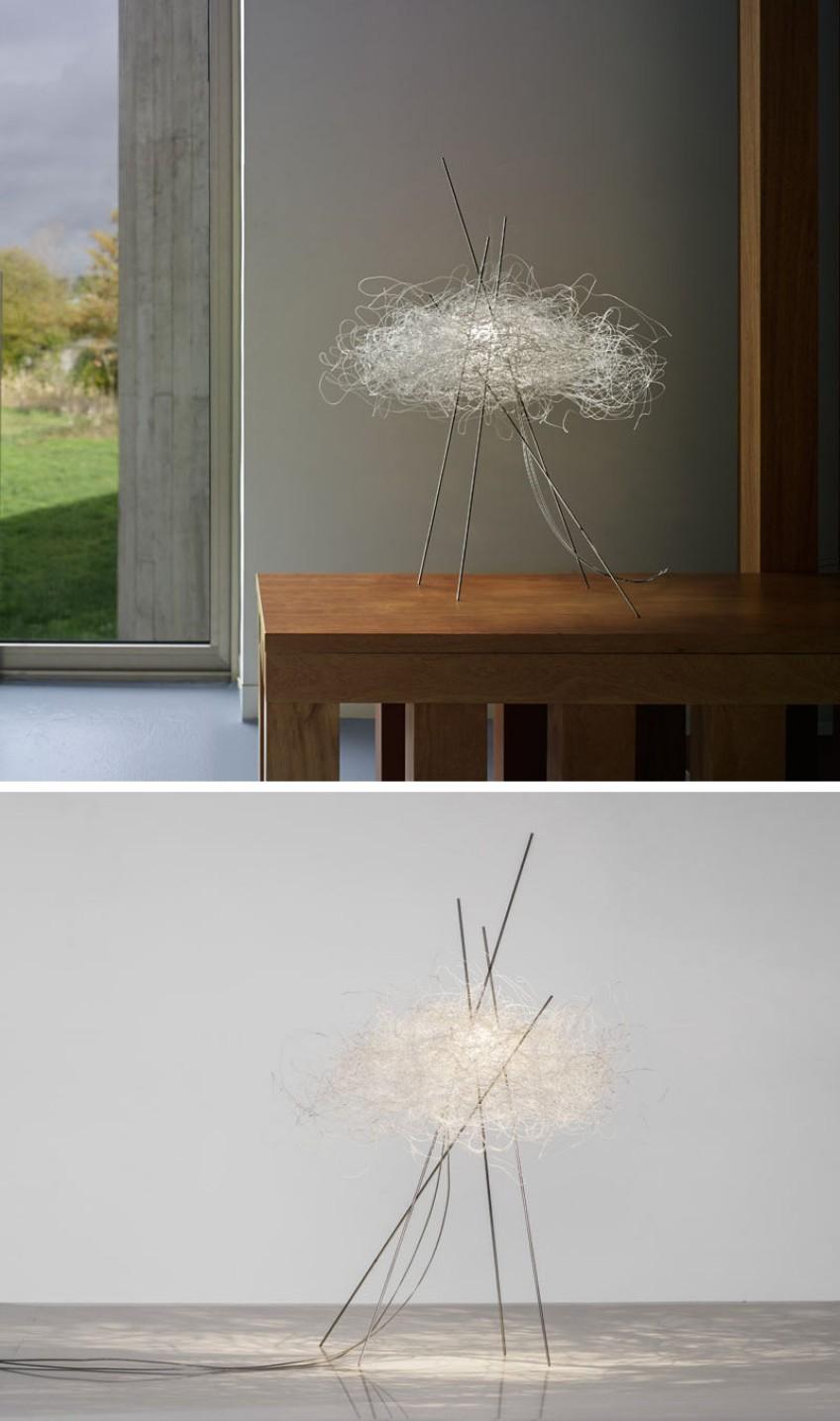 A Modern Cloud-like Decorative Light Fixture light fixture A Modern Cloud-like Decorative Light Fixture A Modern Cloud like Decorative Light Fixture 2
