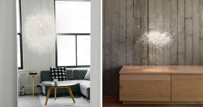 A Modern Cloud-like Decorative Light Fixture light fixture A Modern Cloud-like Decorative Light Fixture A Modern Cloud like Decorative Light Fixture