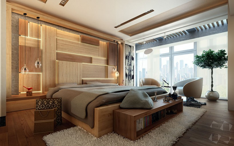 hidden lighting Discover This Modern Bedroom With Hidden Lighting Discover This Modern Bedroom With Hidden Lighting 3