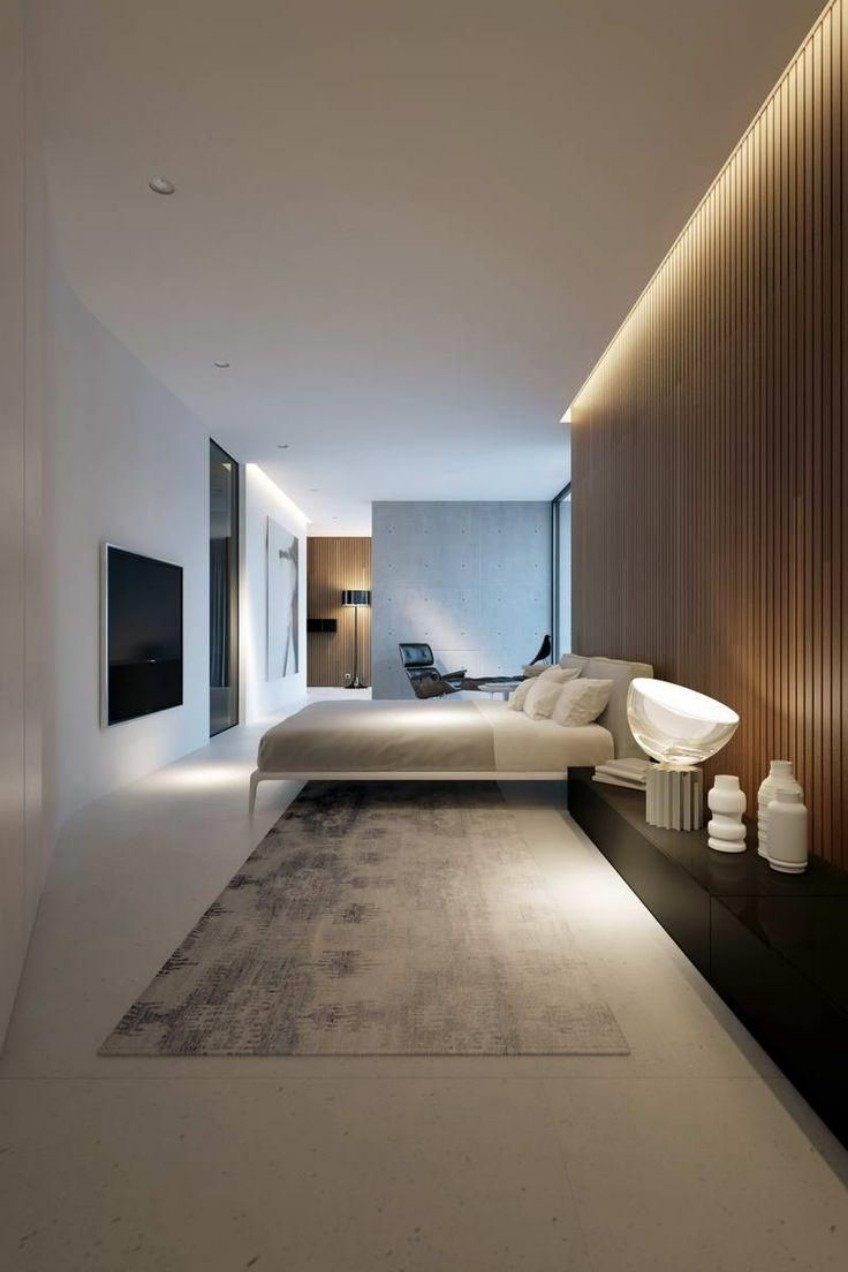 hidden lighting Discover This Modern Bedroom With Hidden Lighting Discover This Modern Bedroom With Hidden Lighting 6