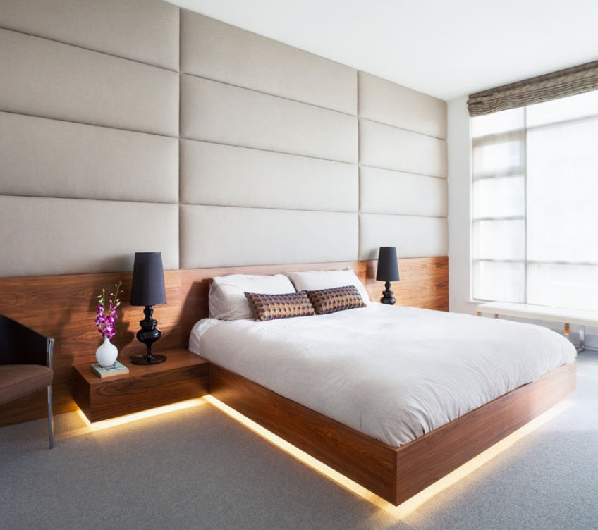 hidden lighting Discover This Modern Bedroom With Hidden Lighting Discover This Modern Bedroom With Hidden Lighting