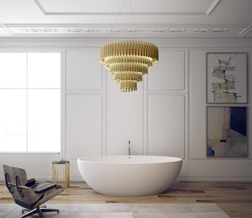 Stunning Bathroom Lighting Ideas That You'll Love bathroom lighting Stunning Bathroom Lighting Ideas That You'll Love Stunning Bathroom Lighting Ideas That Youll Love 5