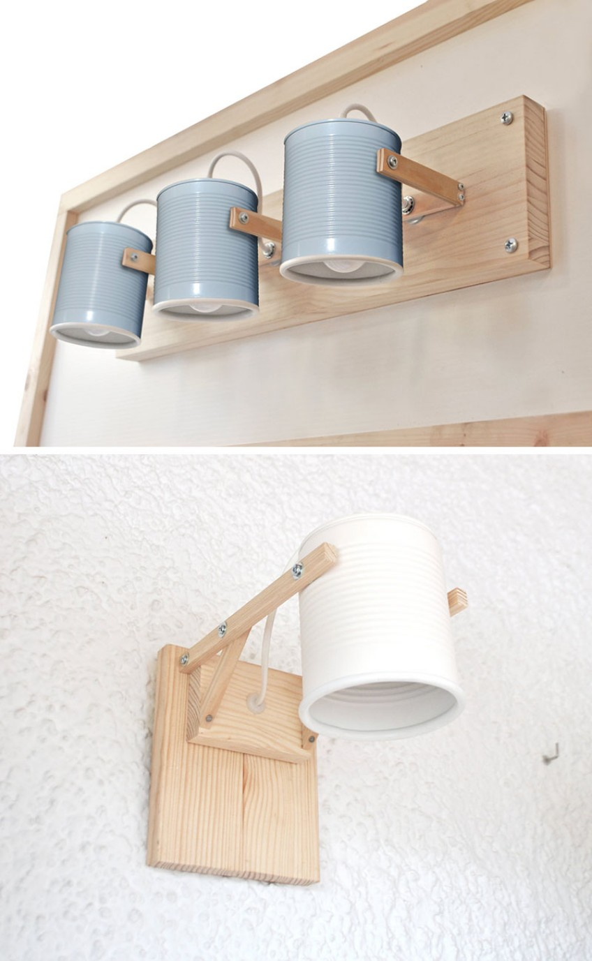 Lighting Ideas: Recycled Tin Cans as Lamp Shades lighting ideas Lighting Ideas: Recycled Tin Cans as Lamp Shades Lighting Ideas Recycled Tin Cans as Lamp Shades