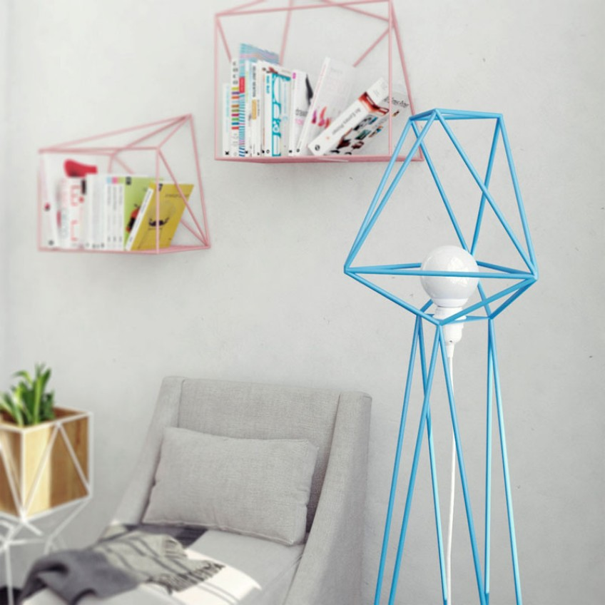 Minimalist Floor Lamps with Geometric Shapes minimalist floor lamps Minimalist Floor Lamps with Geometric Shapes Minimalist Floor Lamps with Geometric Shapes 2
