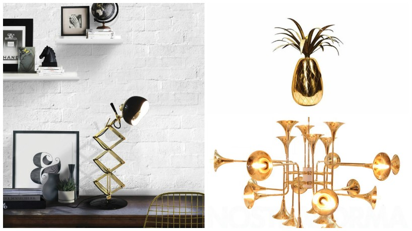 lighting ideas Mood Board: Lighting Ideas with Brass in Interior Design Mood Board Lighting Ideas with Brass in Interior Design 5