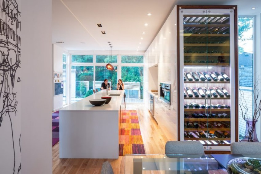 Pendant Lighting Gives This Modern Kitchen a New Twist pendant lighting Pendant Lighting Gives This Modern Kitchen a New Twist Pendant Lighting Gives This Modern Kitchen a New Twist 5