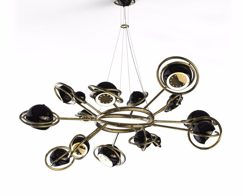 mid-century suspension lamp A Mid-Century Suspension Lamp with a Cosmo Lighting Design A Mid Century Suspension Lamp with a Cosmo Lighting Design 4 818x660