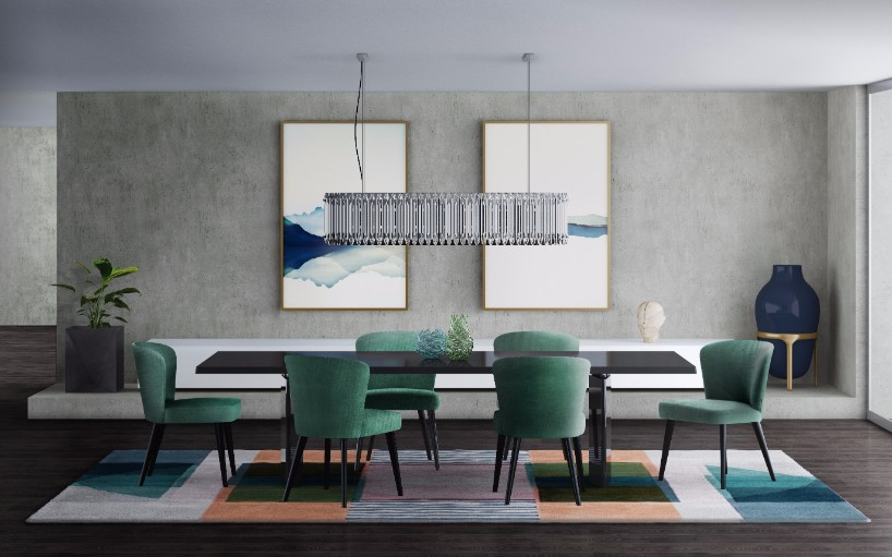 Suspension Lighting Solutions for a Contemporary Dining Room ...