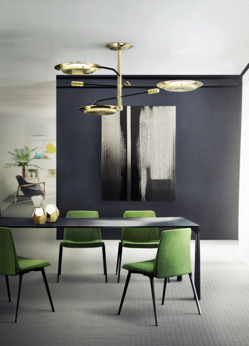 Contemporary Dining Suspension Lighting Solutions For A Contemporary Dining Room