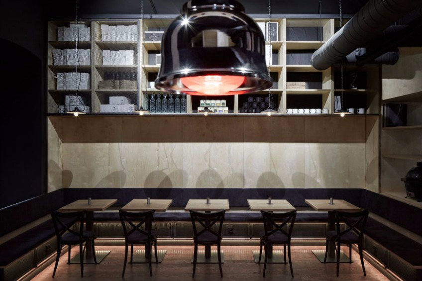 ŠPEJLE Interior Design Restaurant with a Fabulous Lighting Design lighting design ŠPEJLE Interior Design Restaurant with a Fabulous Lighting Design   PEJLE Interior Design Restaurant with a Fabulous Lighting Design 5