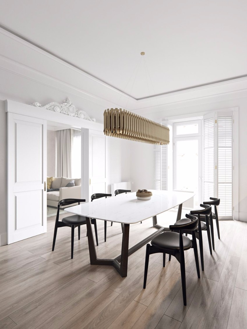 A Scandinavian Interior Design Project With Golden Details  scandinavian interior design project A Scandinavian Interior Design Project With Golden Details A Scandinavian Interior Design Project With Golden Details 3