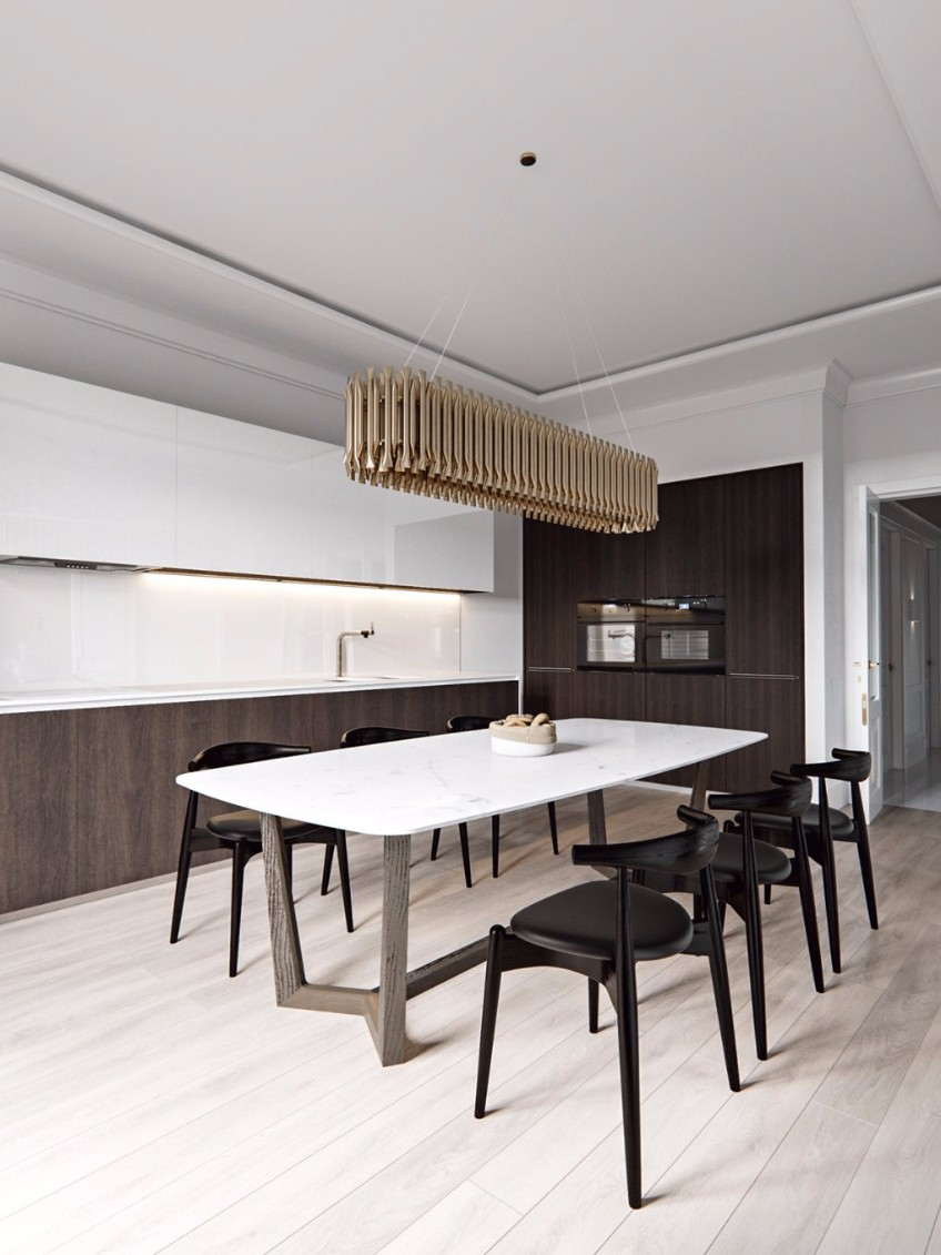 A Scandinavian Interior Design Project With Golden Details  scandinavian interior design project A Scandinavian Interior Design Project With Golden Details A Scandinavian Interior Design Project With Golden Details 5