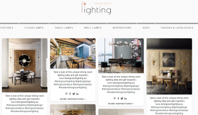 Meet The New Interior Design Blog About Dining Room Lighting!