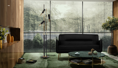 5 Modern Floor Lamps to Decorate your Home For Fall