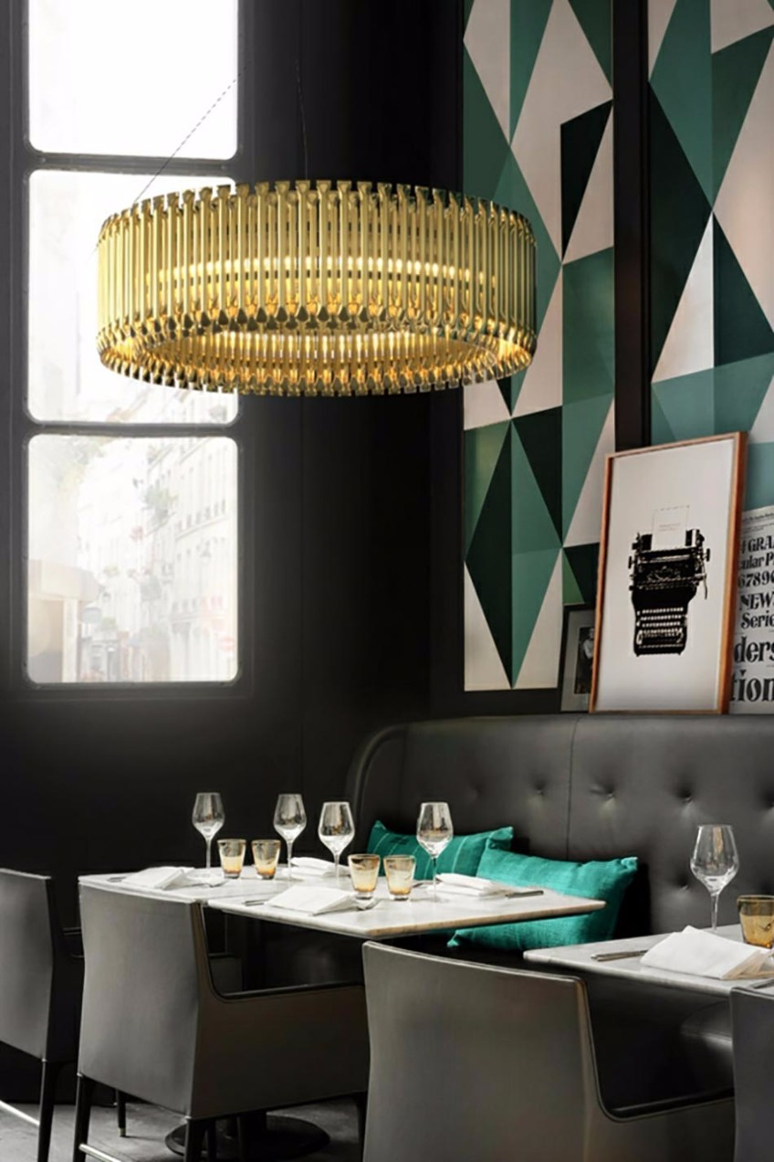get to know the best restaurants with midcentury modern lighting design mid century