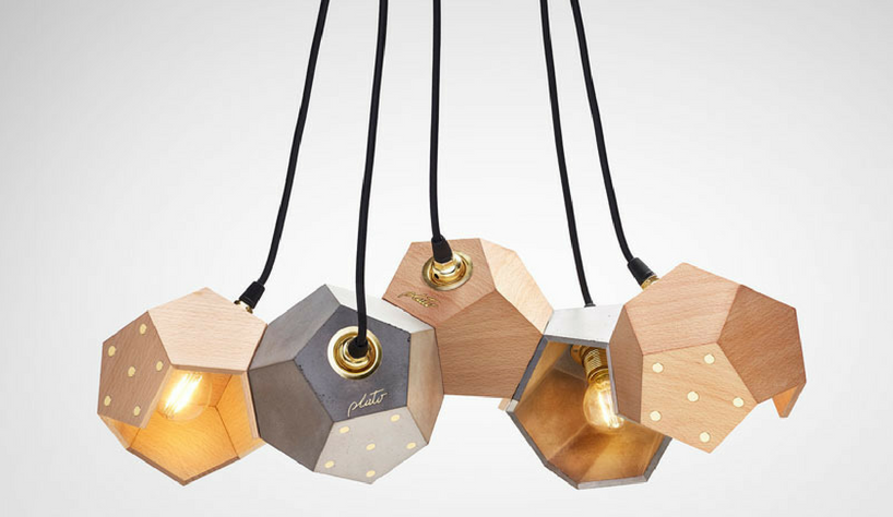 Lighting Design Meet These Wood Magnetic Lamps by Plato Design