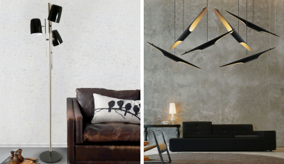 Create a Statement in Your Home Decor With This Vintage Lighting Design