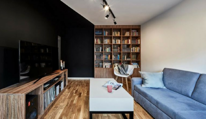 A Modern Apartment in Poland With Contemporary Lighting Solutions contemporary lighting solutions Modern Apartment in Poland With Contemporary Lighting Solutions FEATURED 1