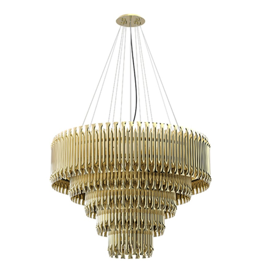 L de luz: lighting Design from candles to today's lighting lighting design L de Luz: Lighting Design From Candles To Today's Lighting matheny light fixture brass tubes stilnovo chandelier detail 01