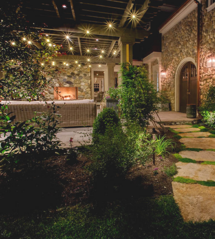 "Landscape Lighting Trends That Will Be In And ""Out"" for 2018 (4) Landscape Lighting Landscape Lighting Trends That Will Be ""In"" And ""Out"" for 2018 Landscape Lighting Trends That Will Be In And    Out    for 2018 4"