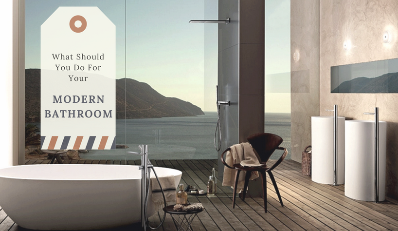 modern bathroom Find Out Now, What Should You Do For Your Modern Bathroom? capa 3