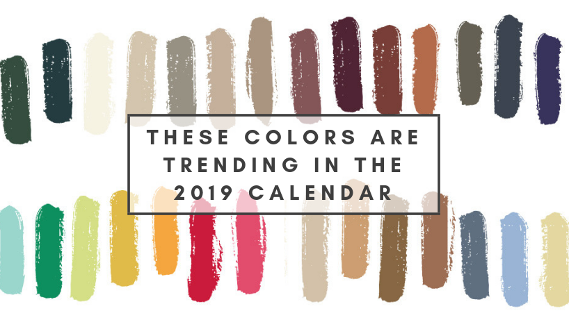 2019 calendar Find Out Here Which Colors Are Trending In 2019 Calendar capa 6