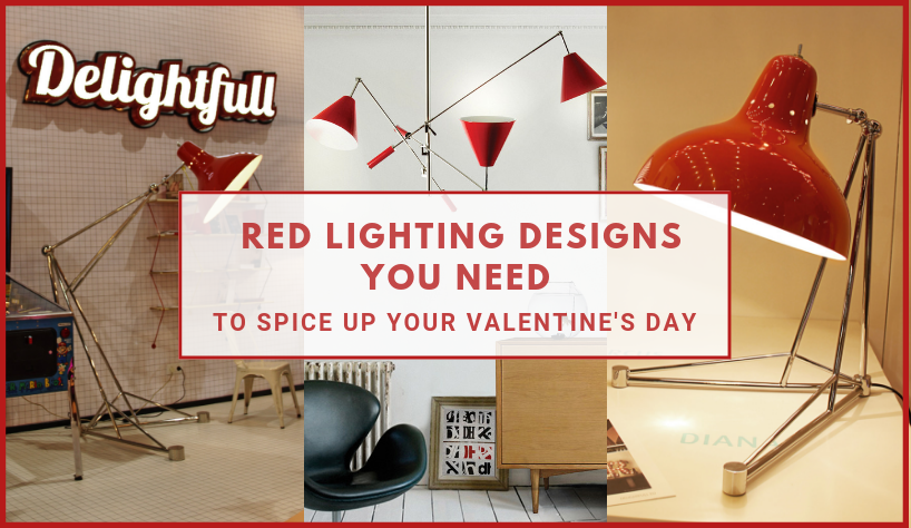 These Are The Red Lighting Designs You Need To Spice Your Home Design 12