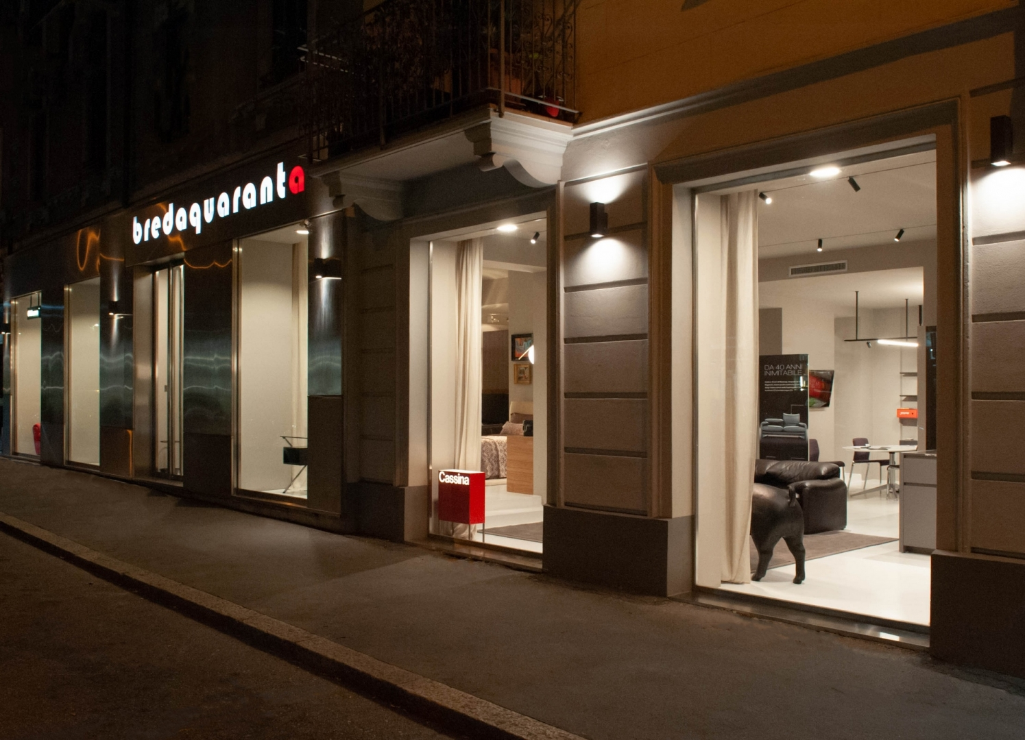 bredaquaranta is the italian showroom you should keep an