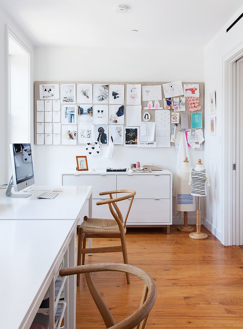 The Perfect Way To Rock An All White Office Design 6 office design The Perfect Way To Rock An All White Office Design The Perfect Way To Rock An All White Office Design 8