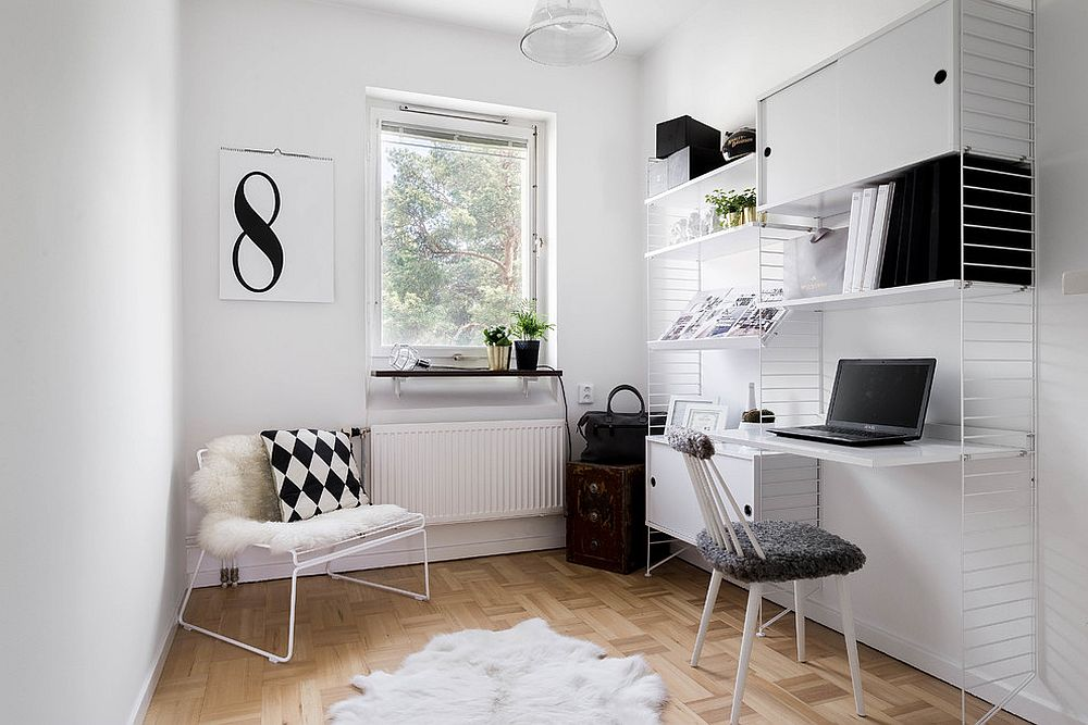 The Perfect Way To Rock An All White Office Design 9 office design The Perfect Way To Rock An All White Office Design The Perfect Way To Rock An All White Office Design 9