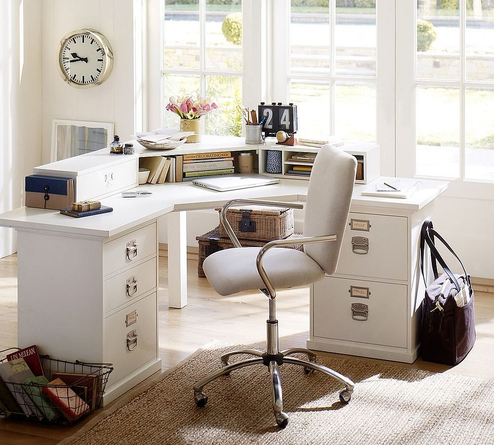 The Perfect Way To Rock An All White Office Design office design The Perfect Way To Rock An All White Office Design The Perfect Way To Rock An All White Office Design