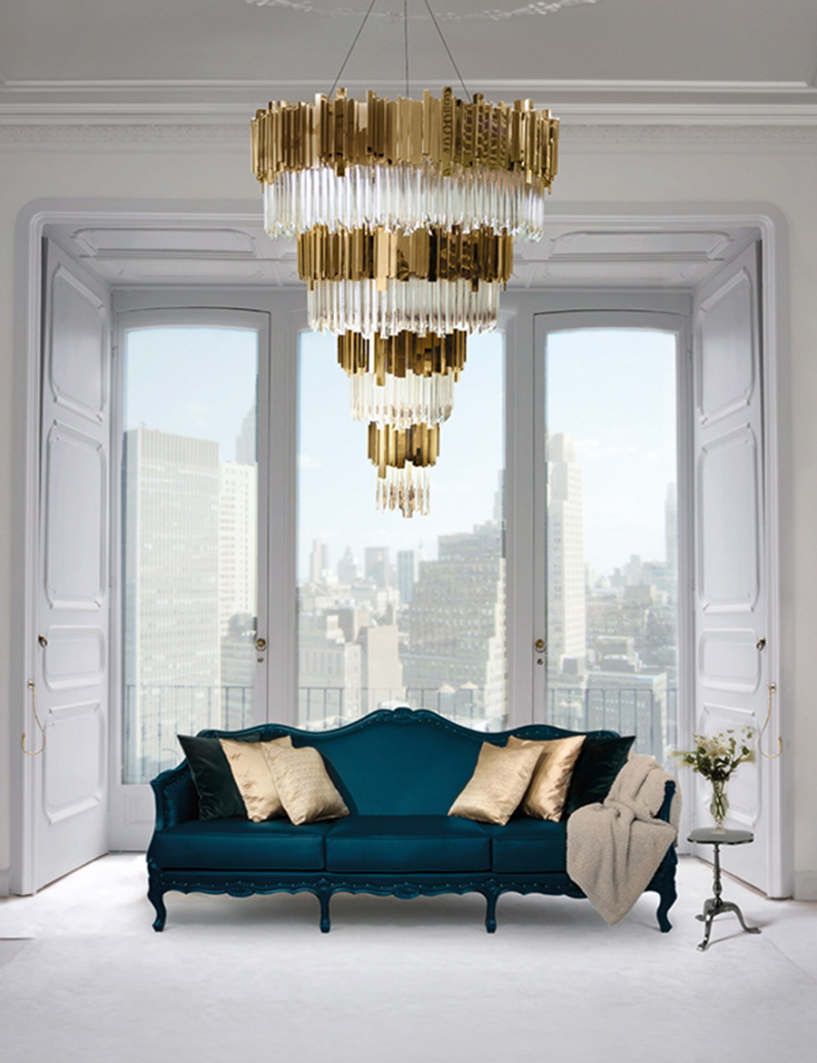luxurious living room décor luxurious living room décor Lighting Pieces For Your Luxurious Living Room Décor! living room 08
