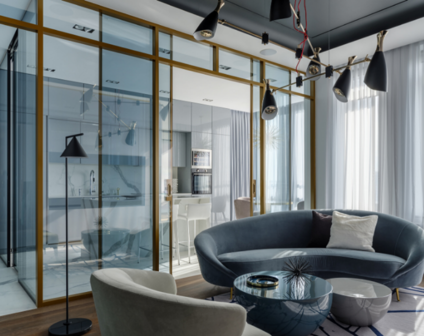 Get Inside This Modern Blue Apartment get inside this modern blue apartment Get Inside This Modern Blue Apartment in Russia Get Inside This Modern Blue Apartment 4
